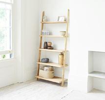 Giá đỡ hình thang gỗ sồi decor TDD17