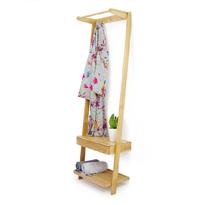 Tủ quần áo hình thang gỗ sồi decor TQA01