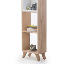 Tủ gỗ đựng đồ nhỏ cao phòng khách gia đình, spa, nail TDD01