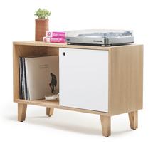 Tủ gỗ decor 2 ngăn đựng đồ hành lang TDD10
