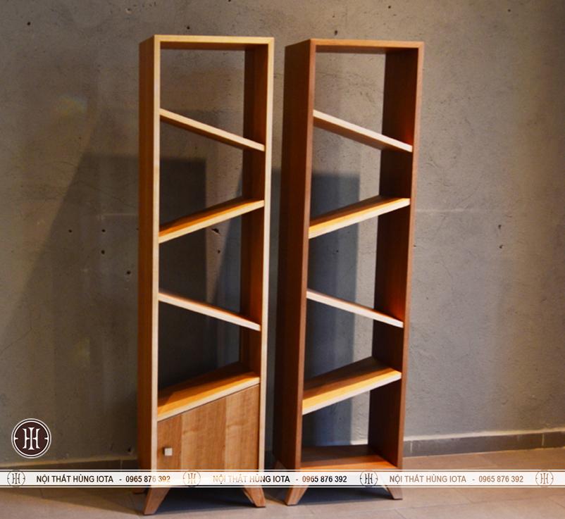 Tủ gỗ 5 tầng đẹp giá rẻ đựng sản phẩm, sách