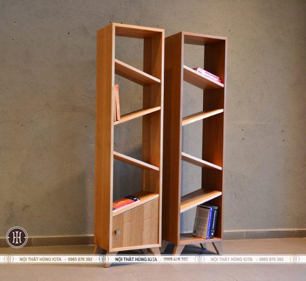 Tủ gỗ đựng đồ đợt lẹch cho phòng khách spa, gia đình, nail, salon tóc