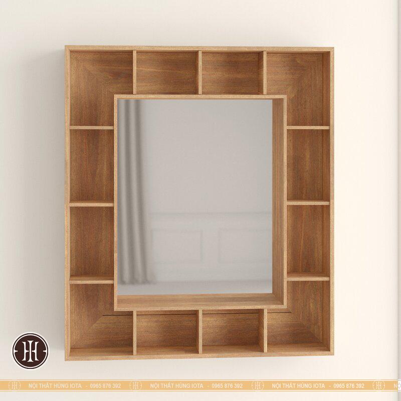 Tủ gỗ treo tường trang trí spa