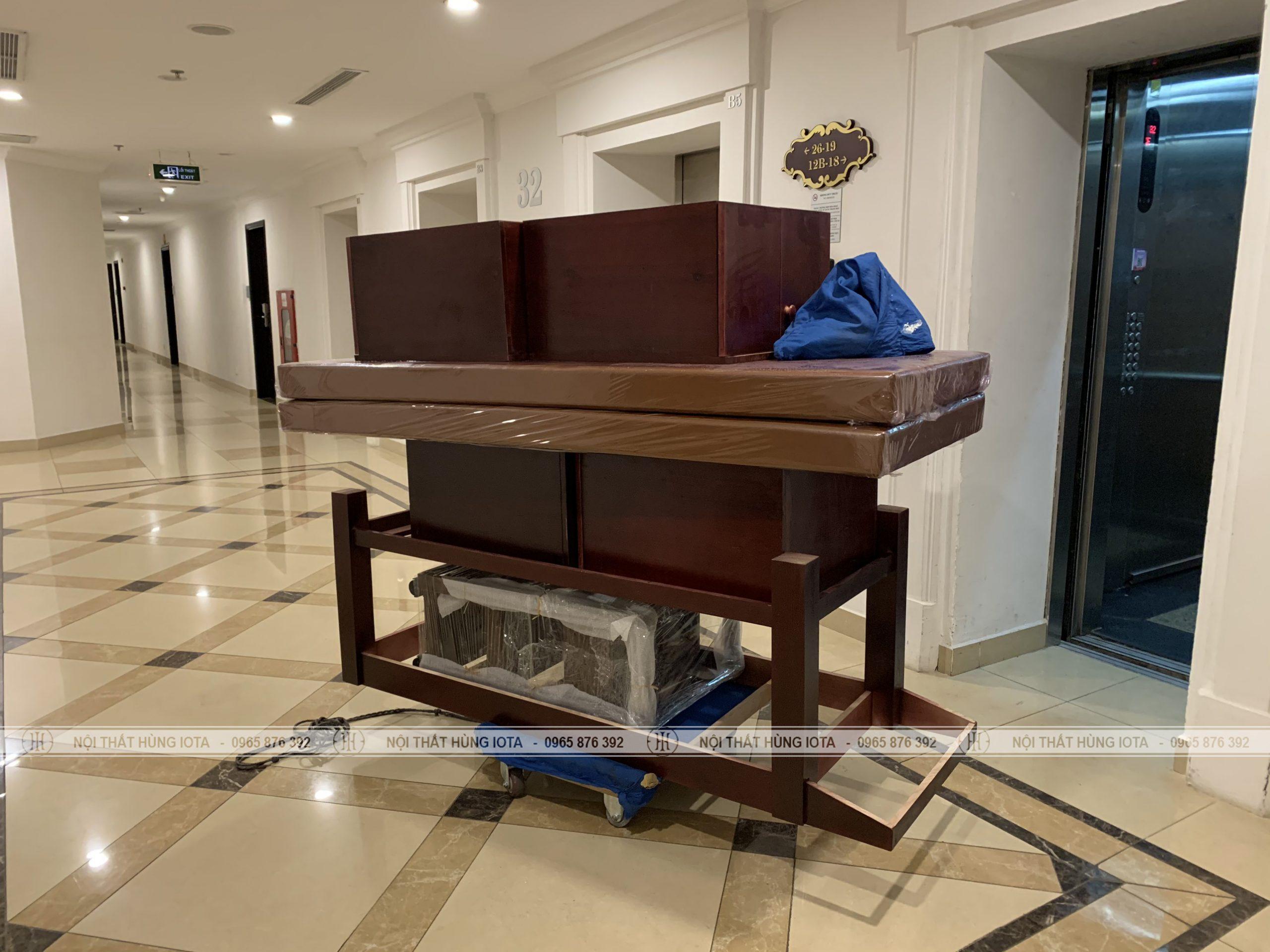 Lắp đặt nội thất spa tại chung cư Royal City