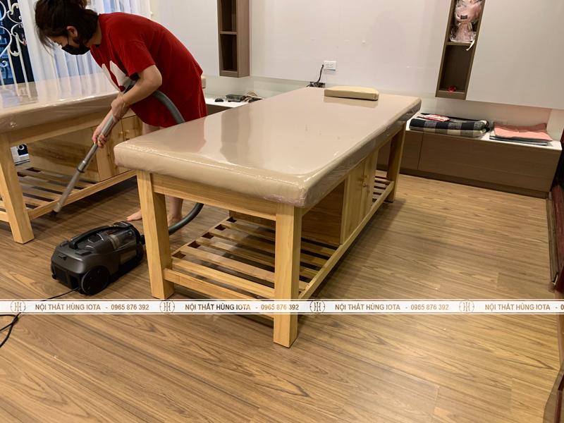 Lắp đặt nội thất thẩm mỹ viện cho khách Hàn Quốc