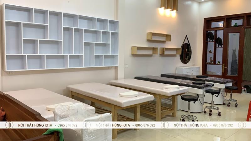 Setup nội thất spa Yến Khánh ở Đồng Kỵ Bắc Ninh