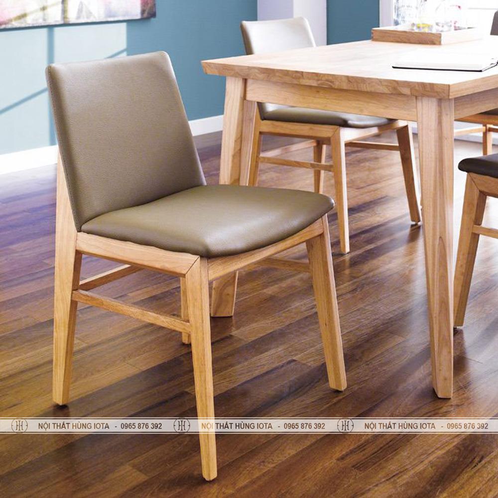 Ghế gỗ bàn ăn đẹp giá rẻ phong cách Obama