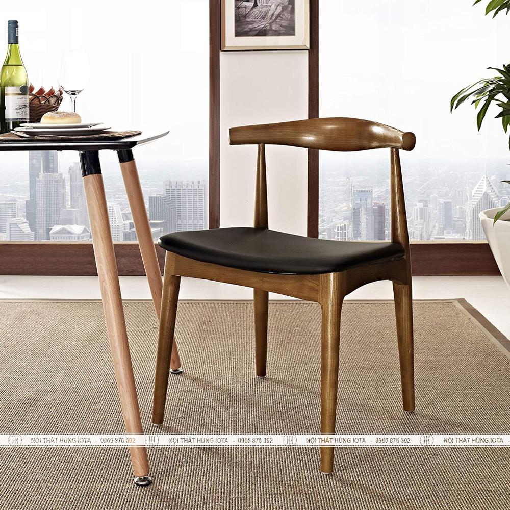 Ghế gỗ decor Bull hay ghế đầu bò làm ghế ngồi làm việc đẹp giá rẻ