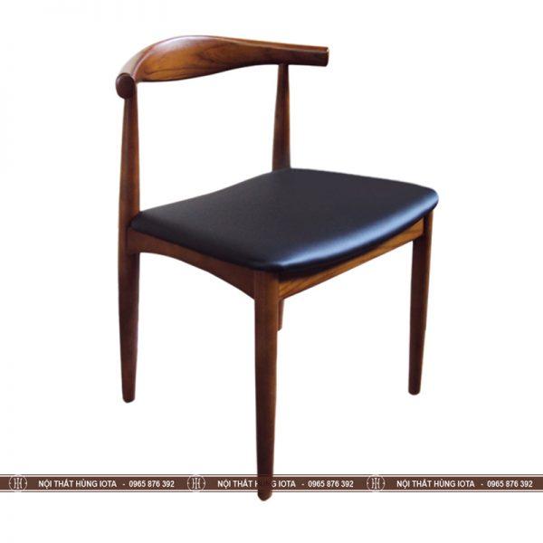 Ghế gỗ decor làm việc Bull màu nâu đen đẹp giá rẻ