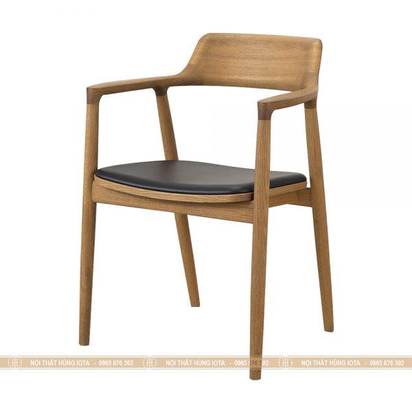 Ghế gỗ Hiroshima màu vàng gỗ đẹp giá rẻ