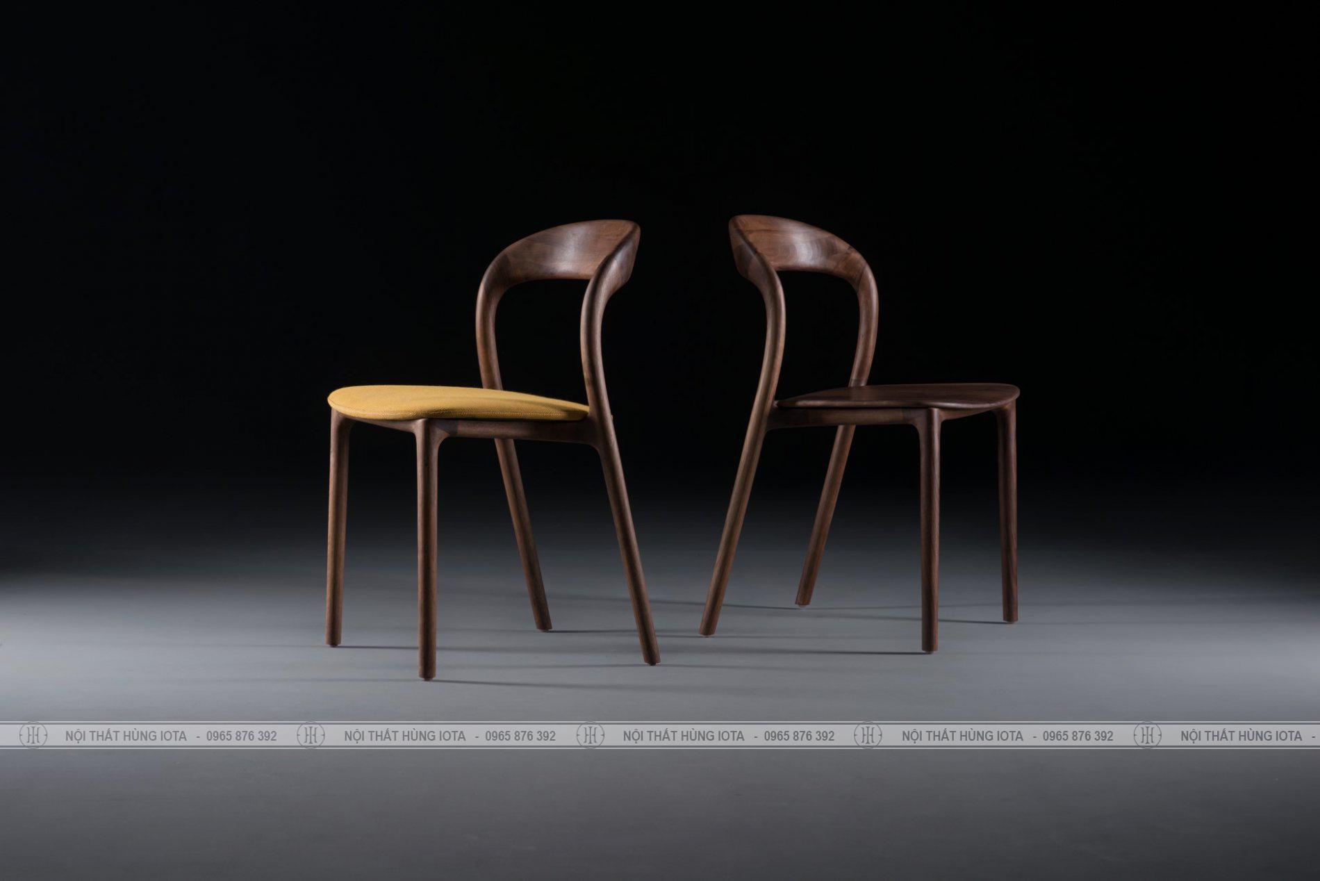 Ghế gỗ neva decor làm ghế cafe, ghế làm việc đẹp giá rẻ