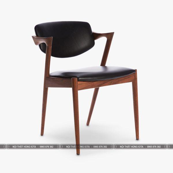 Ghế kai chữ Z decor gỗ đẹp giá rẻ màu nâu đen, nhận làm theo yêu cầu
