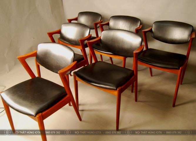 Ghế ngồi Cafe decor đẹp giá rẻ màu đen đỏ