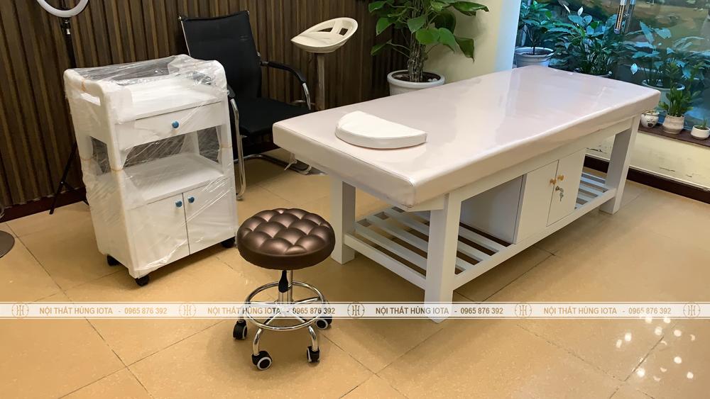Giường spa tại Văn Quán Hà Đông đẹp giá rẻ Hùng Iota