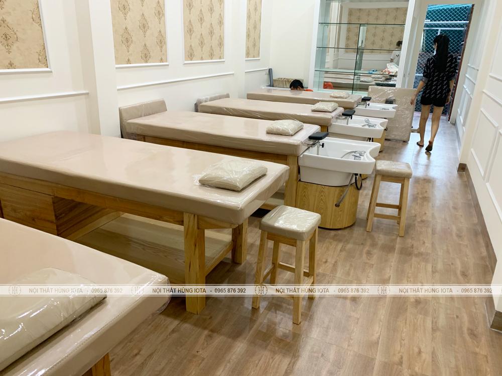 Lắp đặt nội thất spa cho Sh Spa tại Lào Cai cho chị Hiền