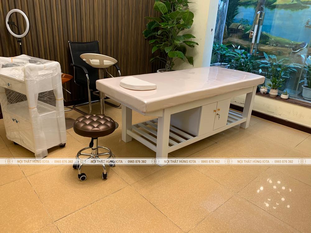 Lắp đặt nội thất spa tại Văn Quán Hà Đông cho chị Huế
