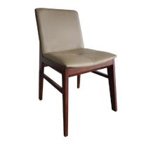 Ghế gỗ bàn ăn decor Obama có tựa GHI11