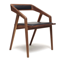 Ghế gỗ làm việc decor Takana GHI10