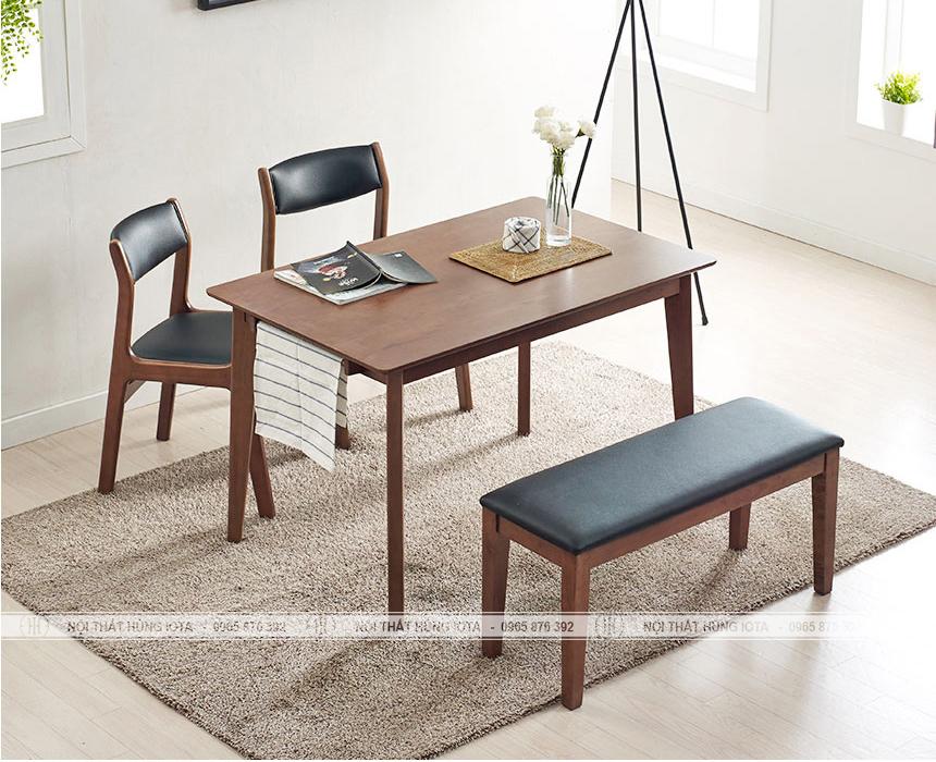 Ghế ngồi cafe benla màu đen vàng gỗ tự nhiên đẹp giá rẻ