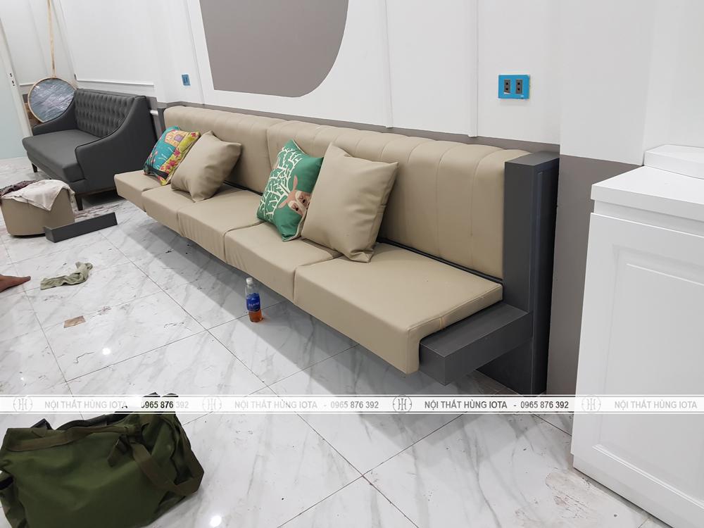 Ghế sofa cho spa đẹp giá rẻ cho Last Spa ở Đông Anh