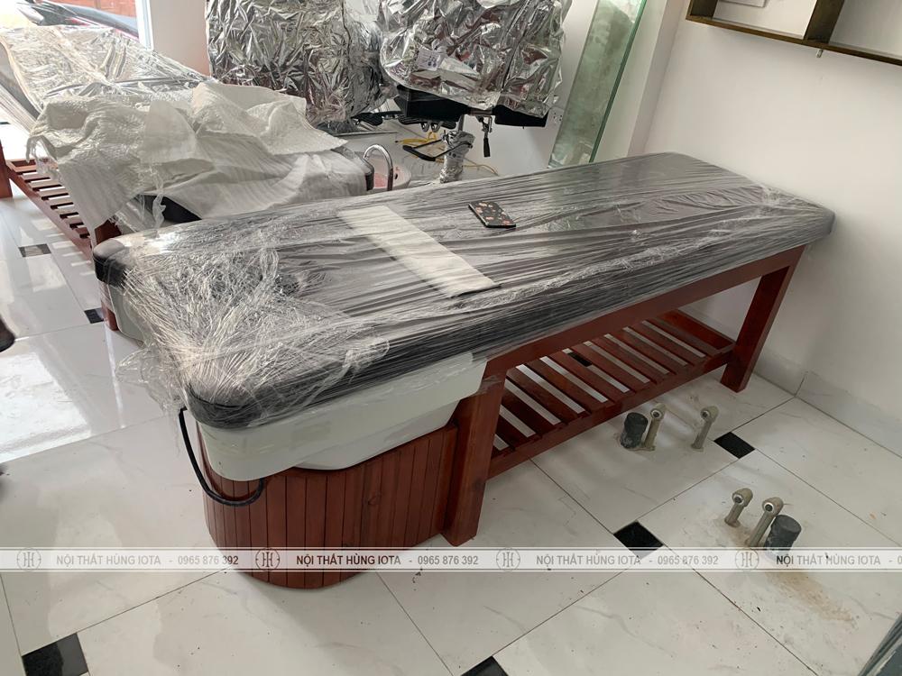 Giường gội dưỡng sinh spa tại Hà Đông đẹp giá rẻ