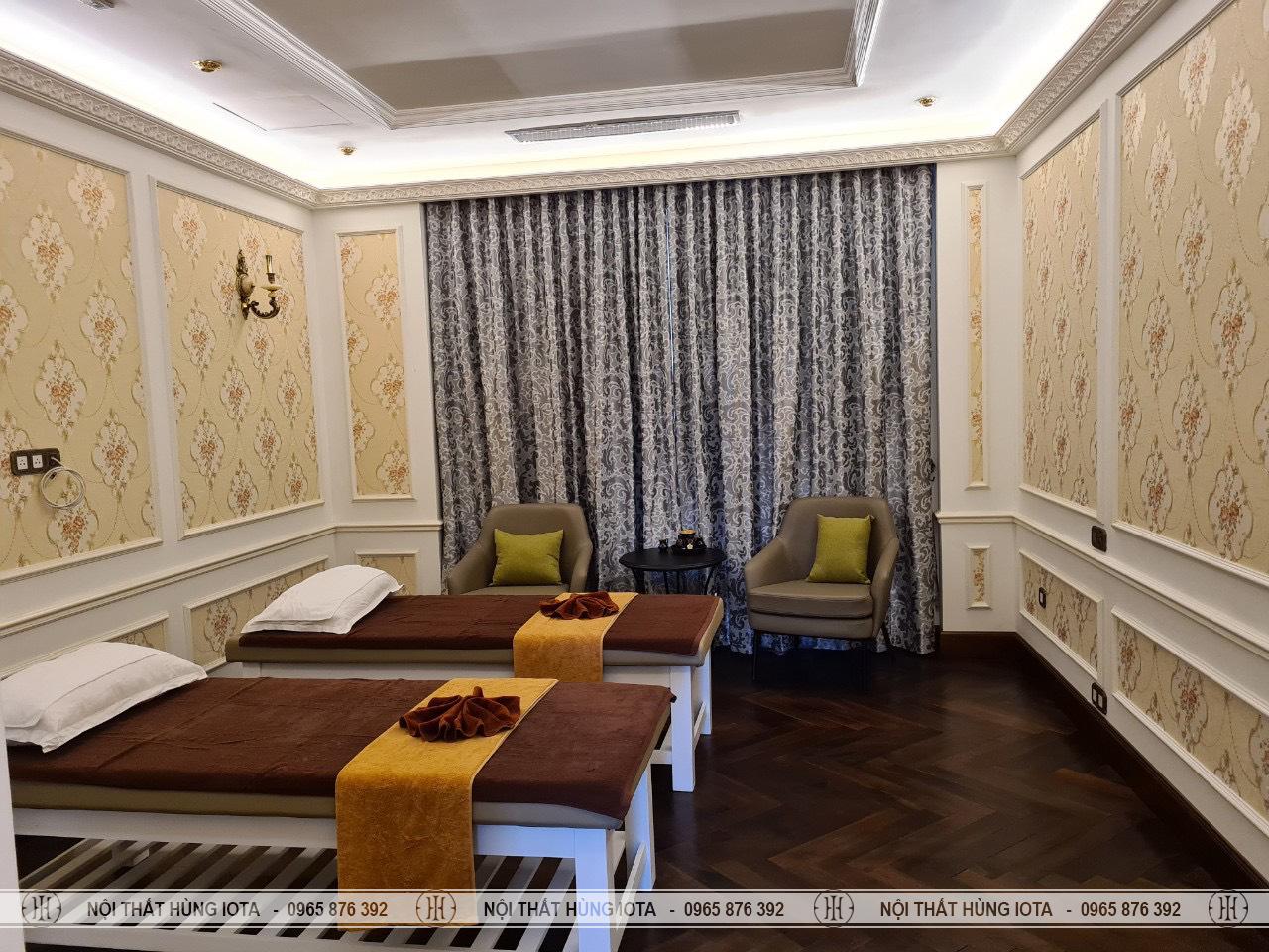 Lắp đặt giường spa tại Mỹ Đình đẹp giá rẻ