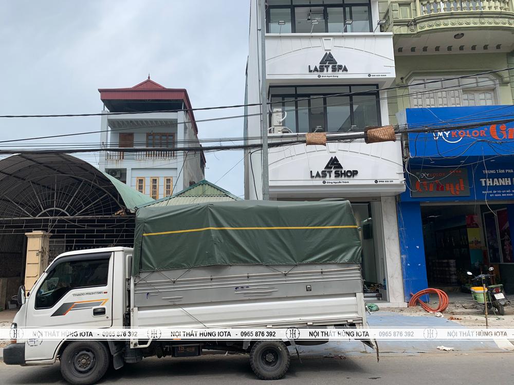 Lắp đặt nội thất Last Spa ở Đông Anh Hà Nội