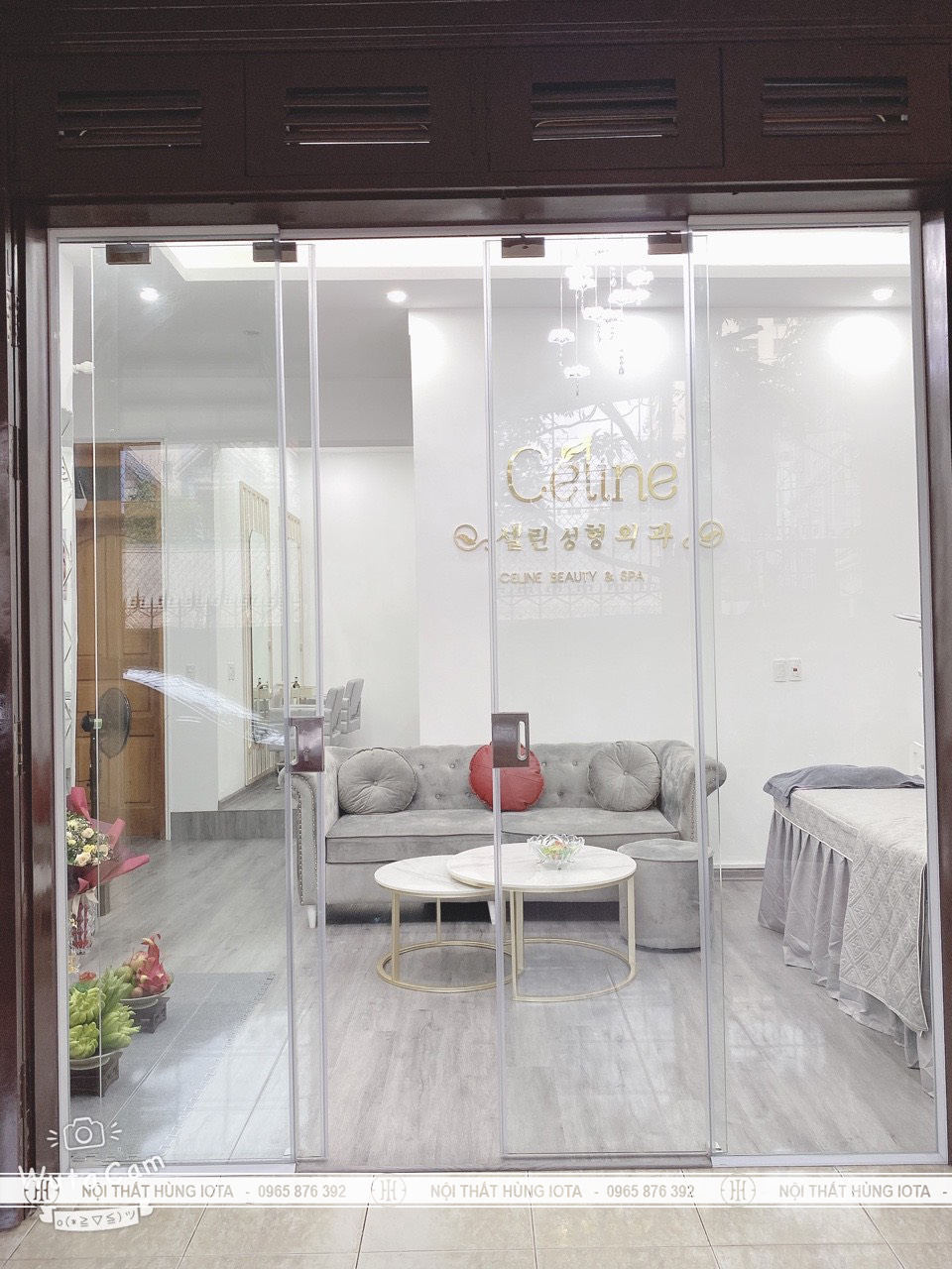 Lắp đặt nội thất cho Celing Beauty & Spa tại Cầu Giấy