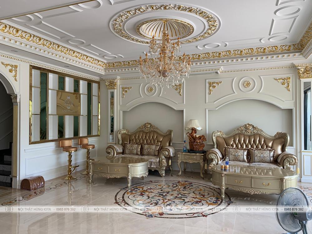 Lắp đặt nội thất Kinh Đô Spa ở Móng Cái, Quảng Ninh đẹp sang trọng cao cấp