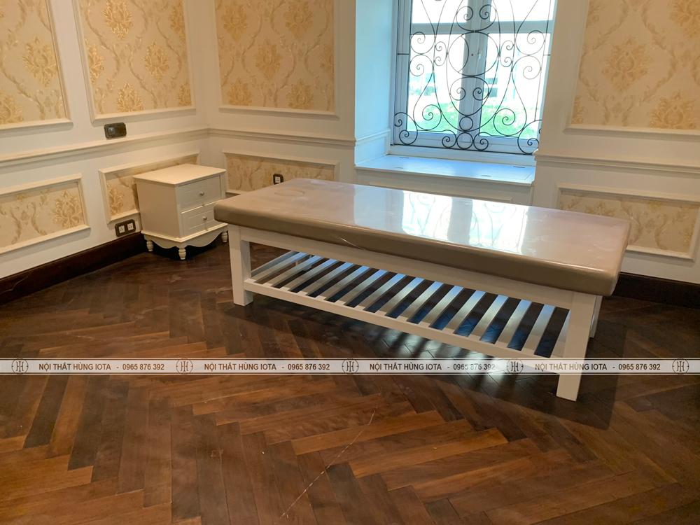 Lắp đặt nội thất spa cho Hana Massage tại Đình Thôn, Mỹ Đình