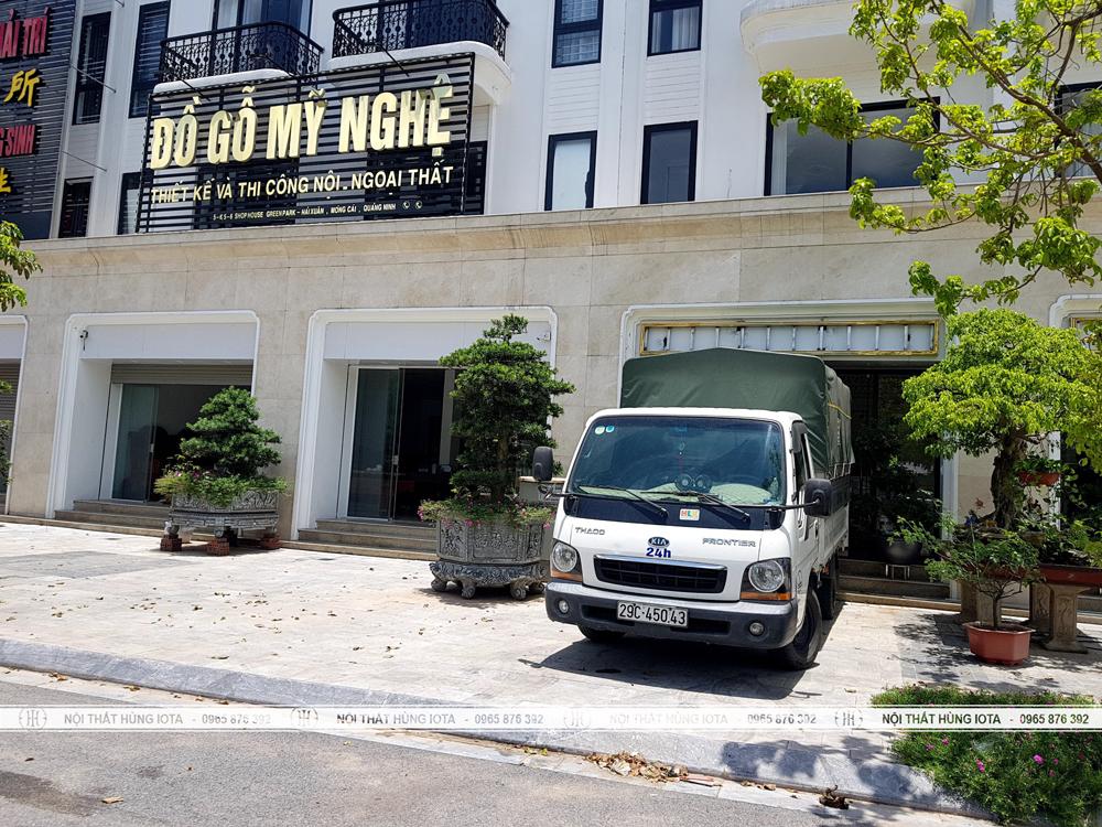Lắp đặt nội thất spa tại Móng Cái Quảng Ninh cho Kinh Đô Spa