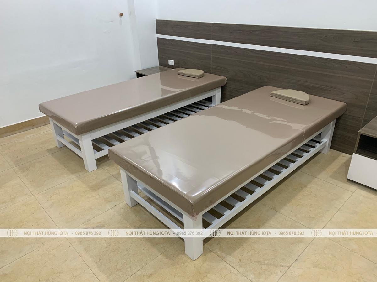 Lắp đặt nội thất spa tại Thiên Hiền, Mỹ Đình cho Hana Massage cơ sở 2