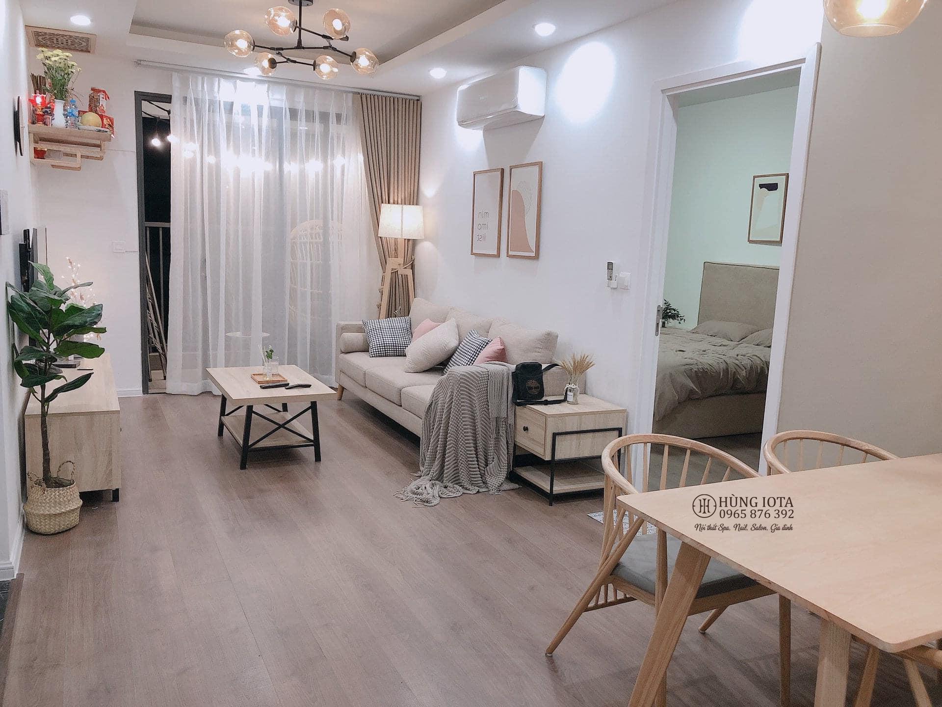 Lắp đặt sofa decor cho chung cư đẹp giá rẻ