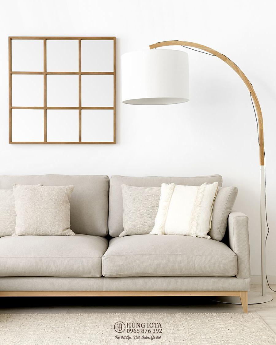 Sofa chung cư chữ L phong cách decor đẹp