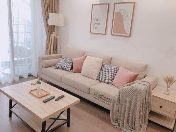 Sofa chung cư decor đẹp giá rẻ tại xưởng sản xuất