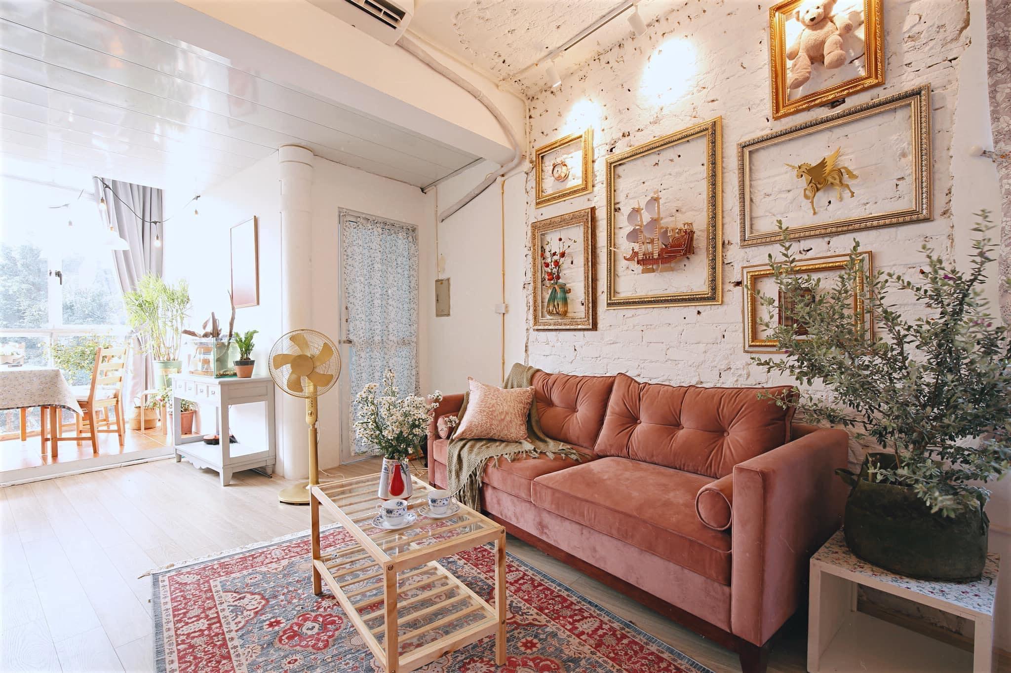 Sofa chung cư tân cổ điển giá rẻ đẹp tại xưởng Hùng Iota