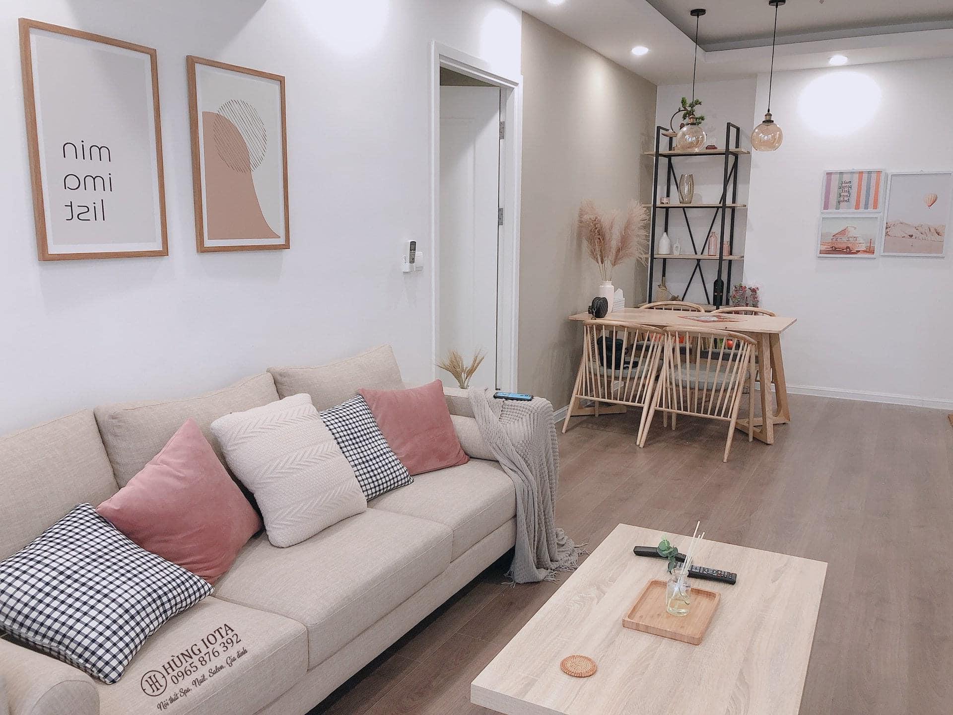 Sofa decor cho chung cư đẹp giá rẻ đơn giản