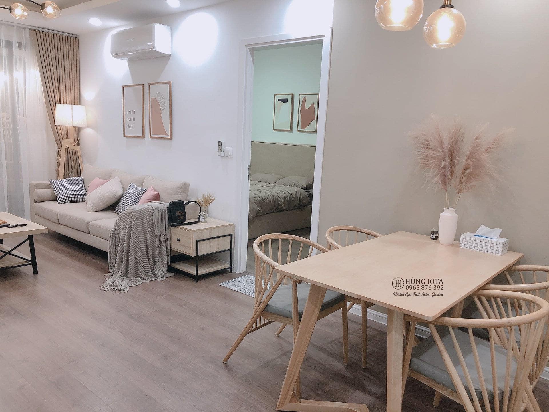 Sofa decor chung cư đơn giản đẹp giá rẻ