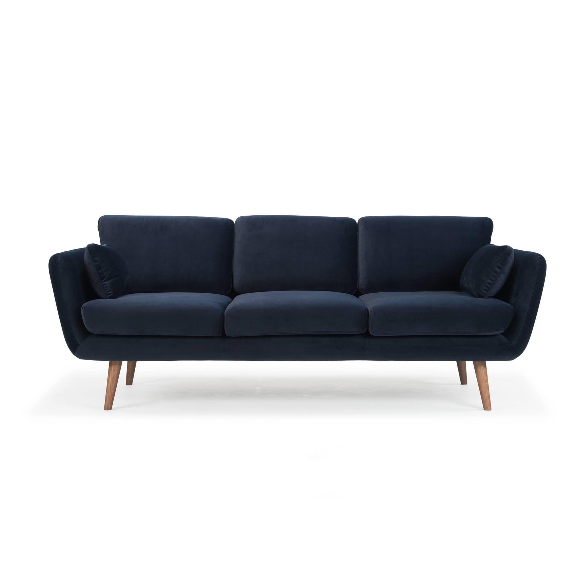 Sofa gia đình màu xanh navy sang trọng tinh tế đẹp