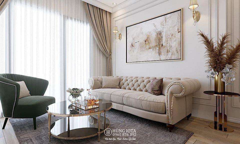 Sofa thẩm mỹ viện tân cổ điển đẹp giá rẻ