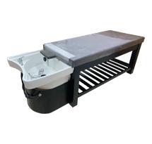 Giường spa 2 in 1 màu đen hay giường gội dưỡng sinh GG06