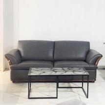 Sofa chung cư nhập khẩu bọc da hiện đại SFGD33