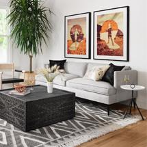 Ghế sofa gia đình trắng đục đẹp giá rẻ SFGD23