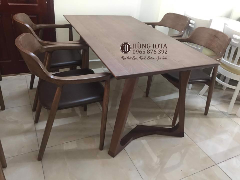 Bộ bàn ghế ăn chung cư Hiroshima 4 ghế hay bàn ghế cafe đẹp