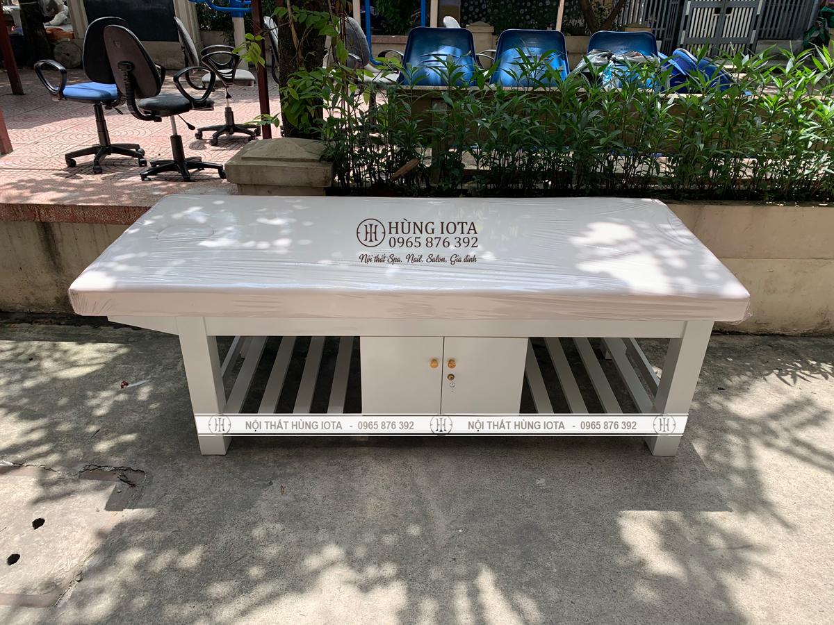Giường spa tại Thái Hà cho bác sỹ Trần Avodka