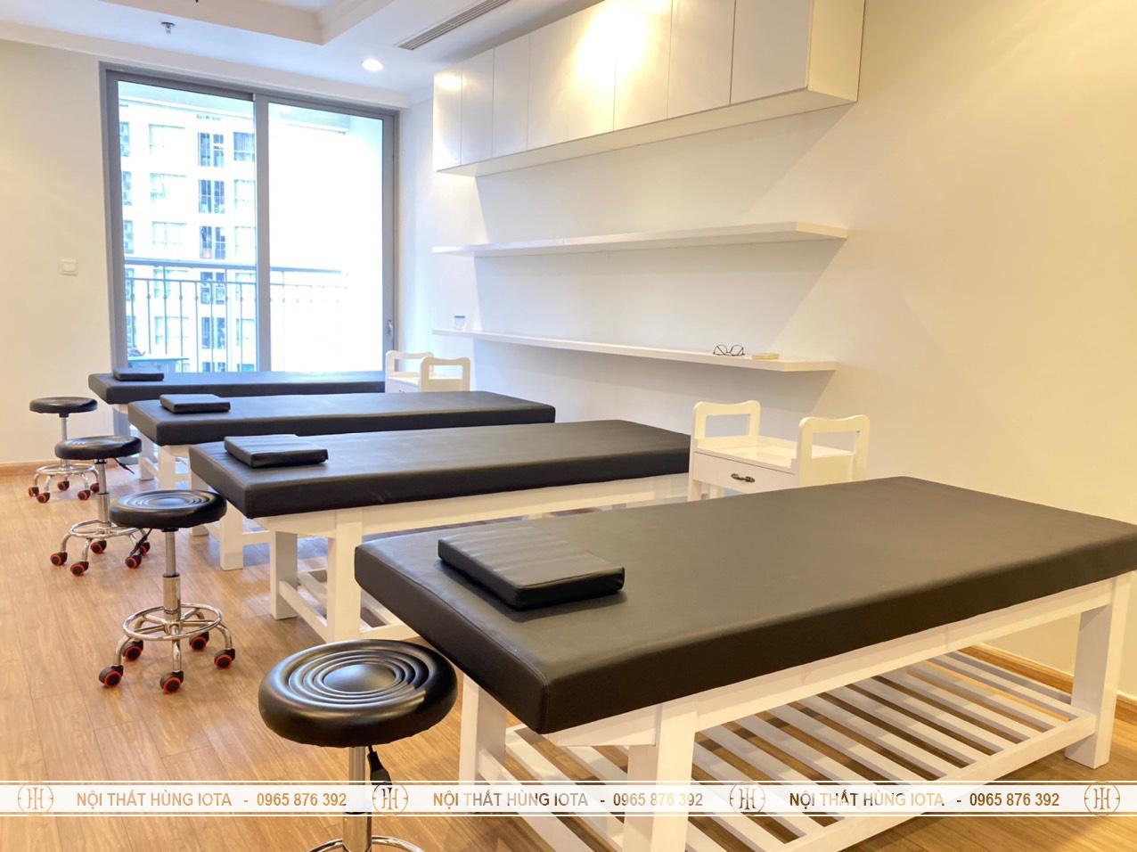 Lắp đặt nội thất spa cho Tập Đoàn Mỡ Thị ở Times City