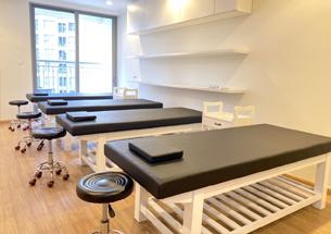 Thumb lắp đặt nội thất spa cho Tập Đoàn Mỡ Thị ở chung cư Times City