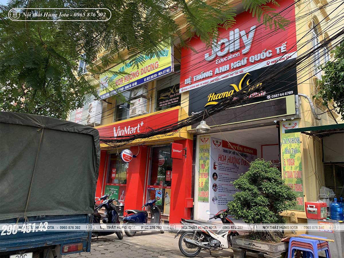 Lắp đặt nội thất spa Hương Sen Beauty Clinic ở Ngũ Hiệp Thanh Trì