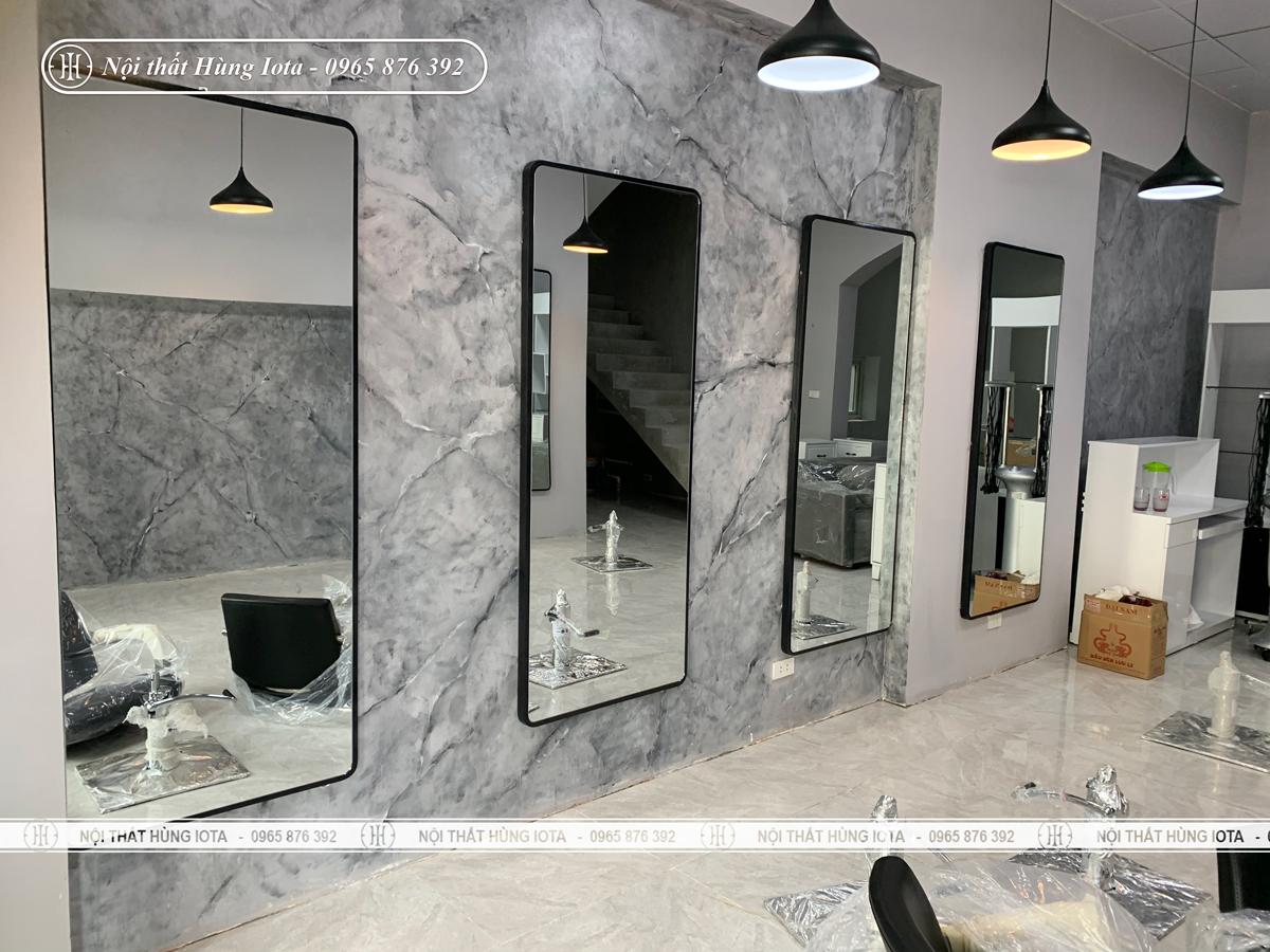 Gương cắt tóc hình chữ nhật giá rẻ đẹp ở Hà Nội