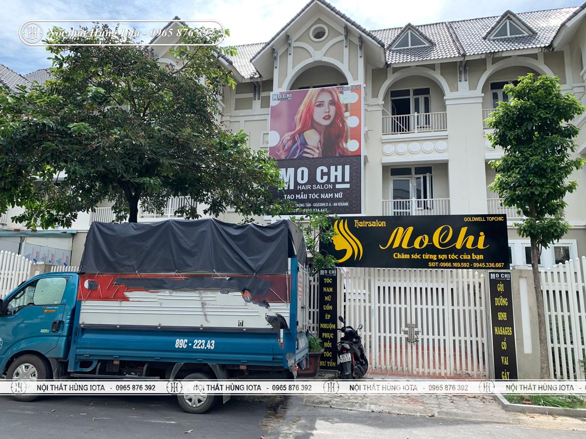 Lắp đặt nội thất salon tóc ở Hà Đông, Hà Nội Salon Mochi